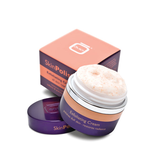 Skin Polish Exfoliating Cream 50g Omic High Performance - Mitchell Brands - Skin Lightening, Skin Brightening, Fade Dark Spots, Shea Butter, Hair Growth Products