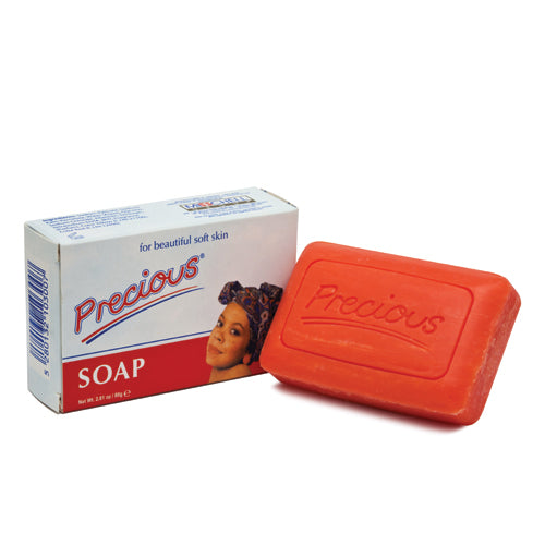 Precious Beauty Soap 80gr Precious - Mitchell Brands - Skin Lightening, Skin Brightening, Fade Dark Spots, Shea Butter, Hair Growth Products