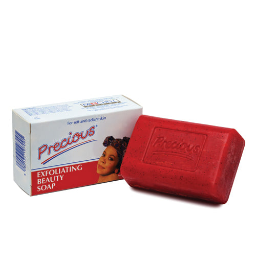 Precious Exfoliating Beauty Soap 200g Precious - Mitchell Brands - Skin Lightening, Skin Brightening, Fade Dark Spots, Shea Butter, Hair Growth Products
