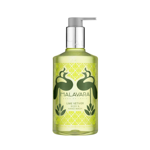 Malavara Lime Vetiver Body & Hand Wash 300ml Mitchell Group USA, LLC - Mitchell Brands - Skin Lightening, Skin Brightening, Fade Dark Spots, Shea Butter, Hair Growth Products