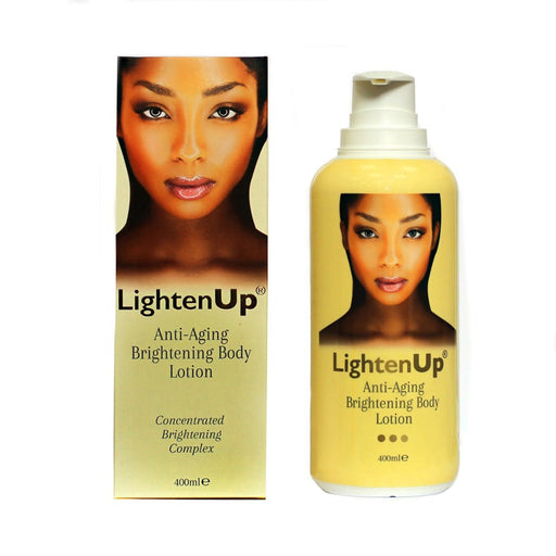 Lighten Up Anti-Aging Brightening Body Lotion 400ml Mitchell Brands - Mitchell Brands - Skin Lightening, Skin Brightening, Fade Dark Spots, Shea Butter, Hair Growth Products