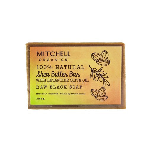 Mitchell Organics Black Soap African Black Soap - Mitchell Brands - Skin Lightening, Skin Brightening, Fade Dark Spots, Shea Butter, Hair Growth Products