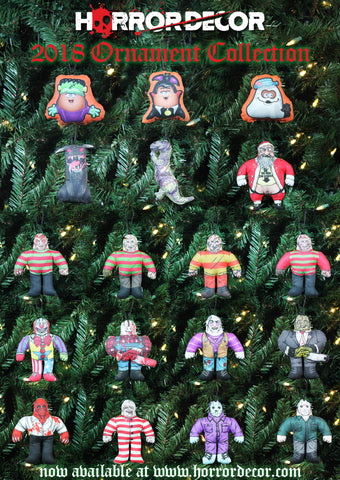 Horror Christmas Ornaments.Horror Decor Our Holiday Ornament Collection Has Arrived