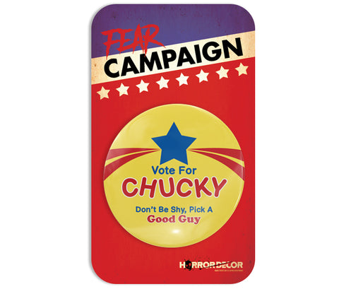 Vote For Chucky Button