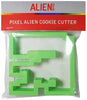 Pixel Alien Cookie Cutter
