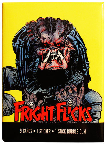 Fright Flicks Predator Magnet
