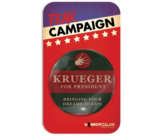 Krueger For President Button