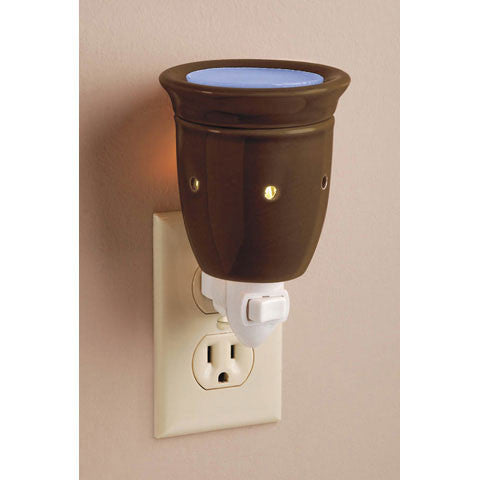Brown Wall Plug Wax Melter