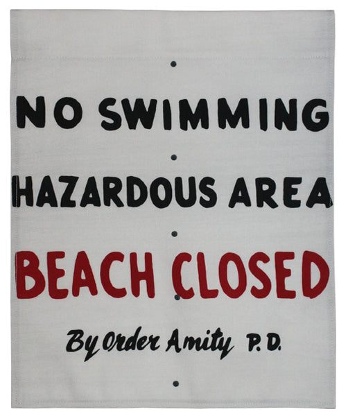 Beach Closed Flag