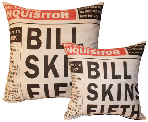 Bill Skins Fifth Pillow