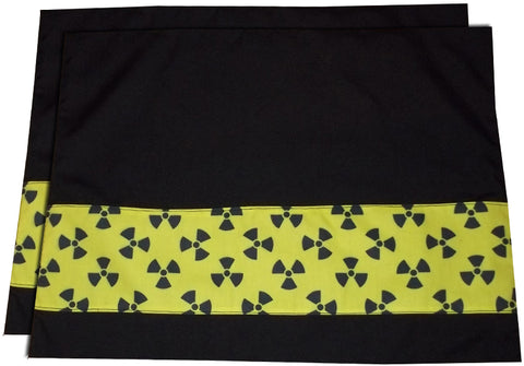 Radiation Symbol Placemats (Set Of 2)