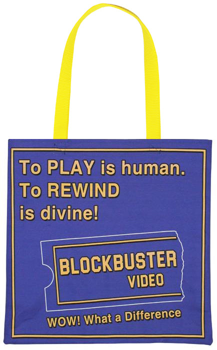 Blockbuster Tote Bag