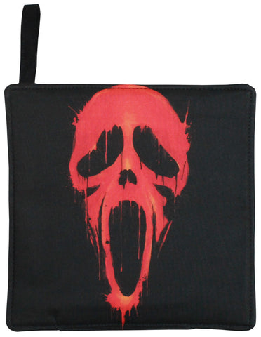 Bloody Scream Pot Holder