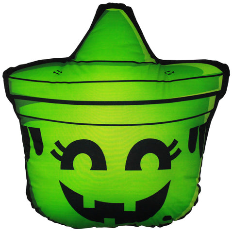 Boo Pail Pillow - Witch