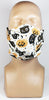 Cream Vintage Halloween Face Mask