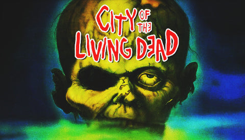 City Of The Living Dead Label