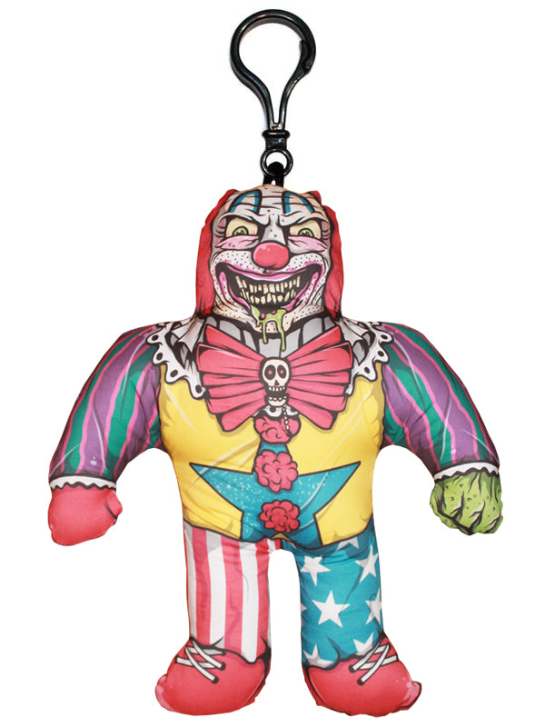 Clown Horror Buddy Backpack Clip