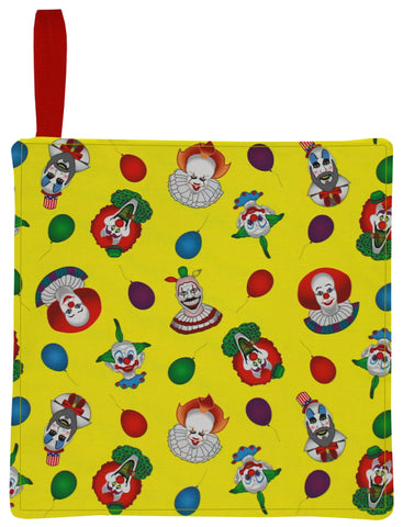 Clown Collage Pot Holder