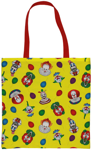 Clown Collage Tote Bag