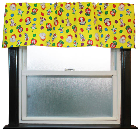 Clown Collage Valance