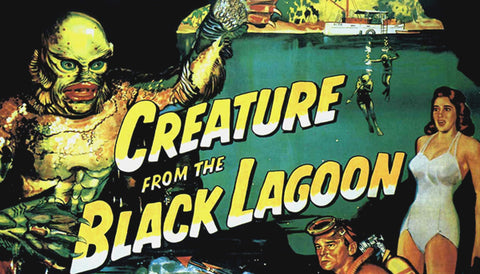Creature From The Black Lagoon Label