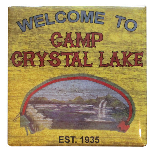 Crystal Lake Magnet