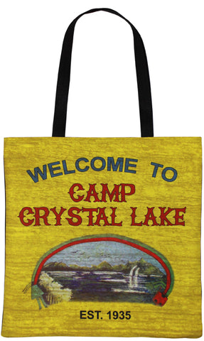 Crystal Lake Tote Bag