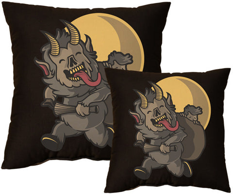 Cute Krampus Pillow