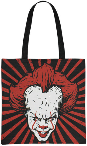 Dancing Clown Tote Bag