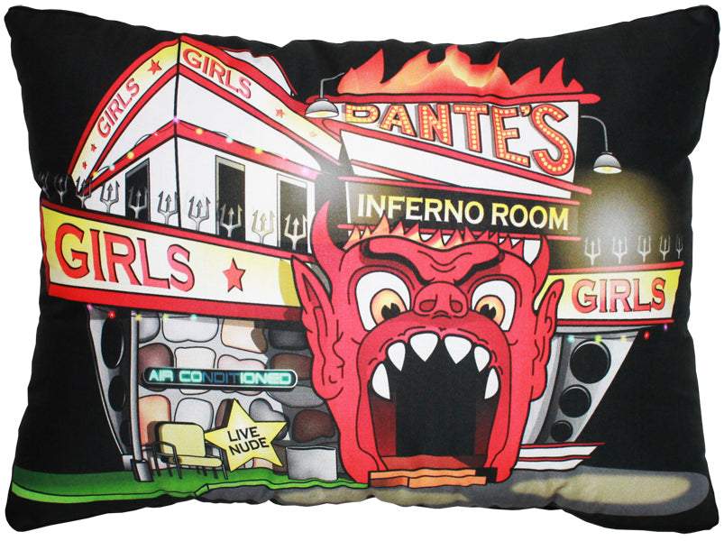 Dante's Inferno Room Pillow