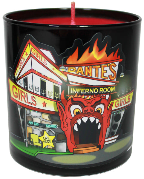 Dante's Inferno Room Candle