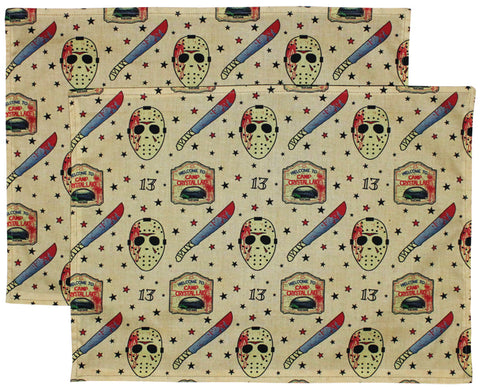 F13 Tattoo Placemats (Set Of 2)