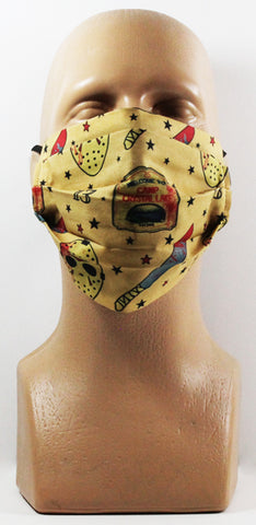 F13 Tattoo Face Mask