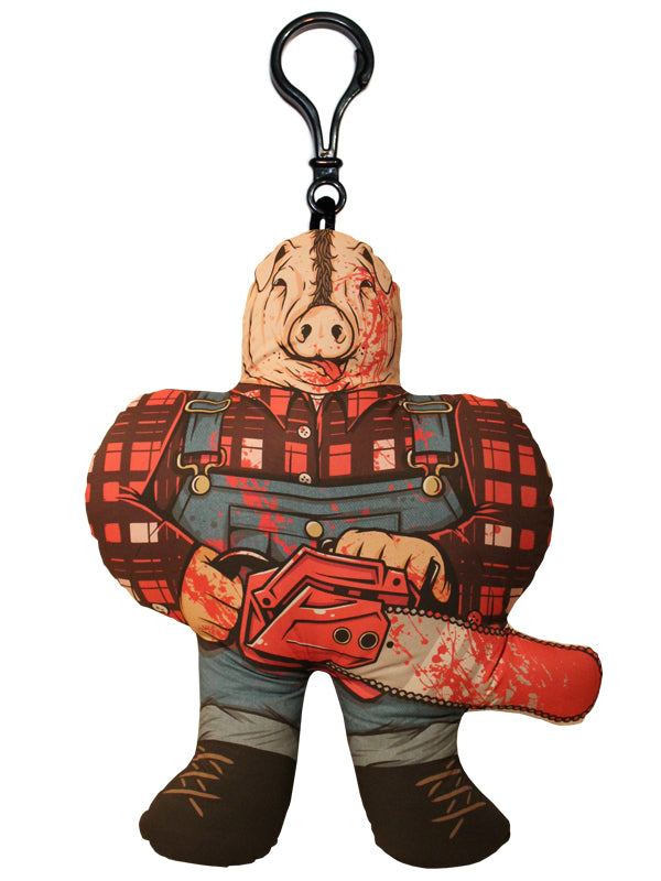Farmer Horror Buddy Backpack Clip