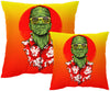 FrankenSummer Pillow