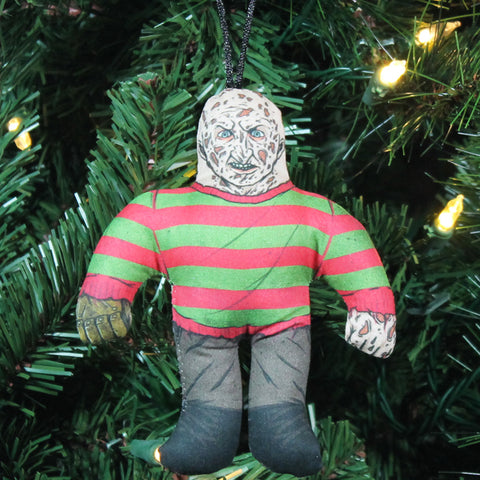 Classic Freddy Horror Buddy Ornament