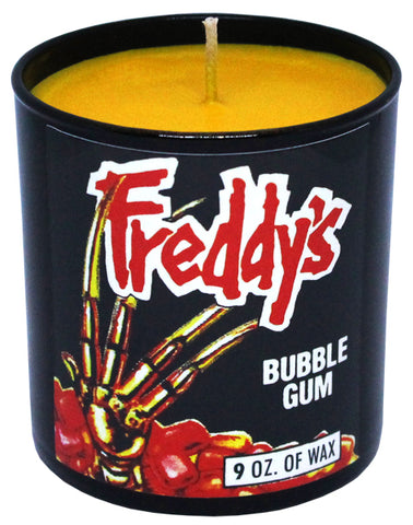 Freddy's Bubble Gum Candle