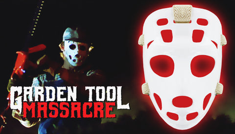 Garden Tool Massacre Label
