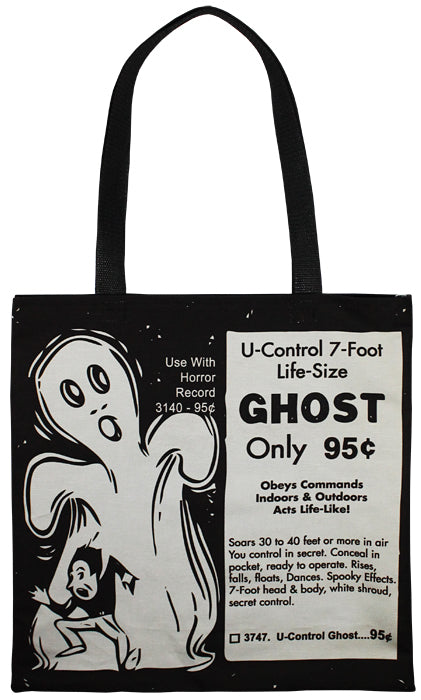 U-Control Ghost Tote Bag