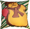 Gingerbread Man Pillow