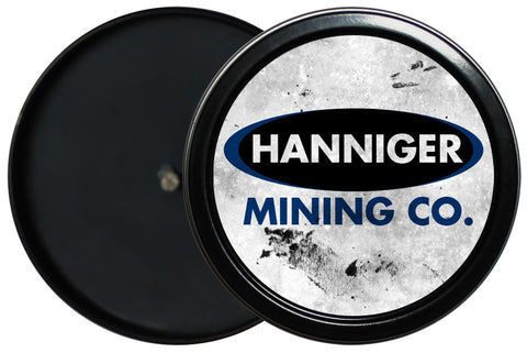 Hanniger Mining Candle Tin