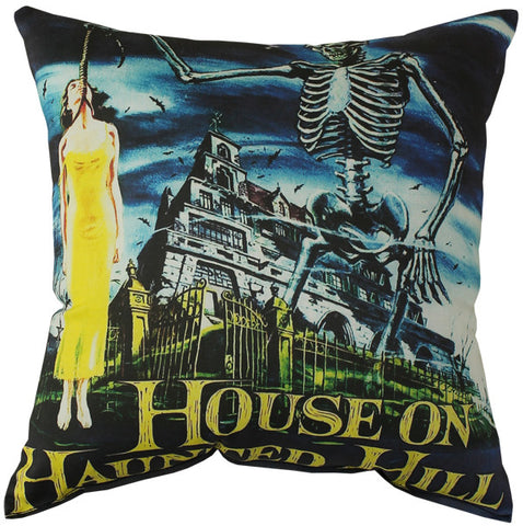 House On Haunted Hill Pillow
