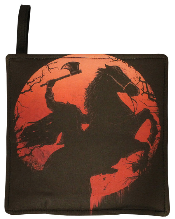 Headless Horseman Pot Holder