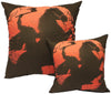 Headless Horseman Pillow (Red & Black)