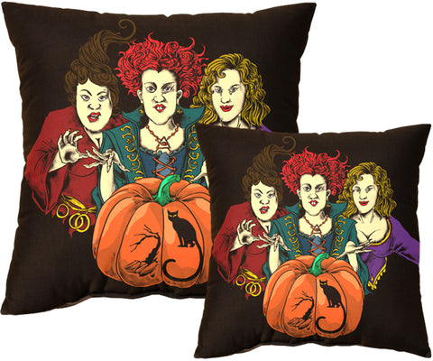 Three Witches Pillow