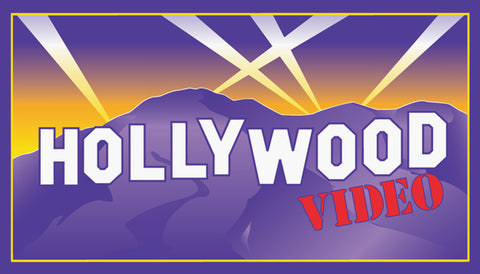 Hollywood Video Label
