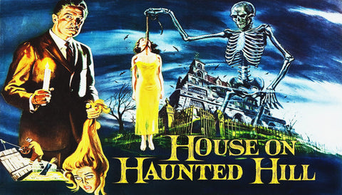 House On Haunted Hill Label