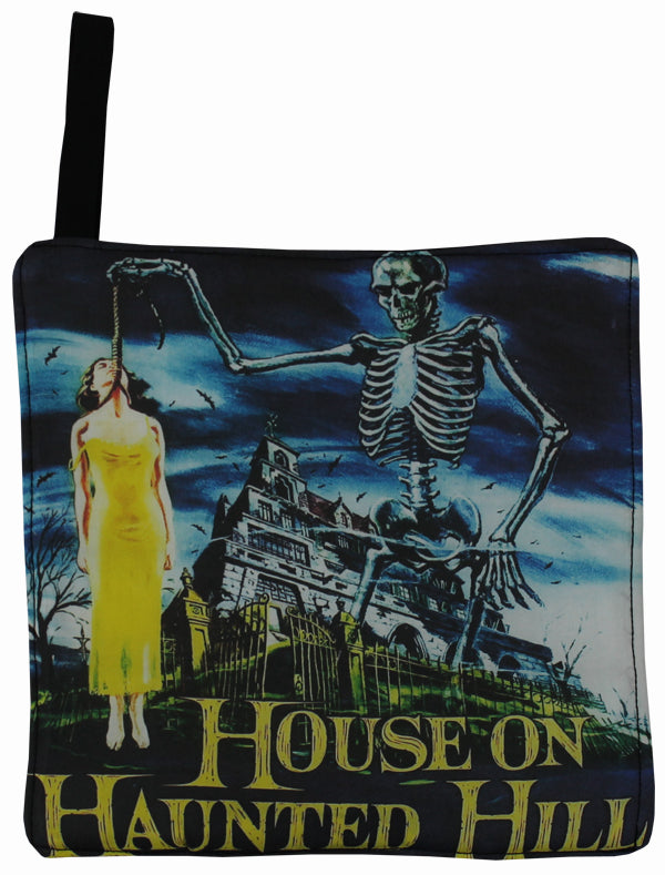 House On Haunted Hill Pot Holder