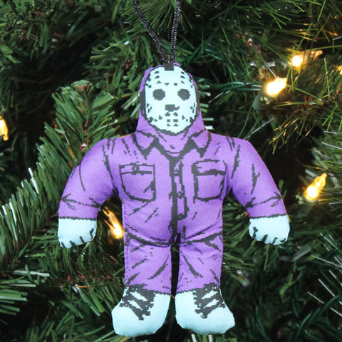 NES Jason Horror Buddy Ornament