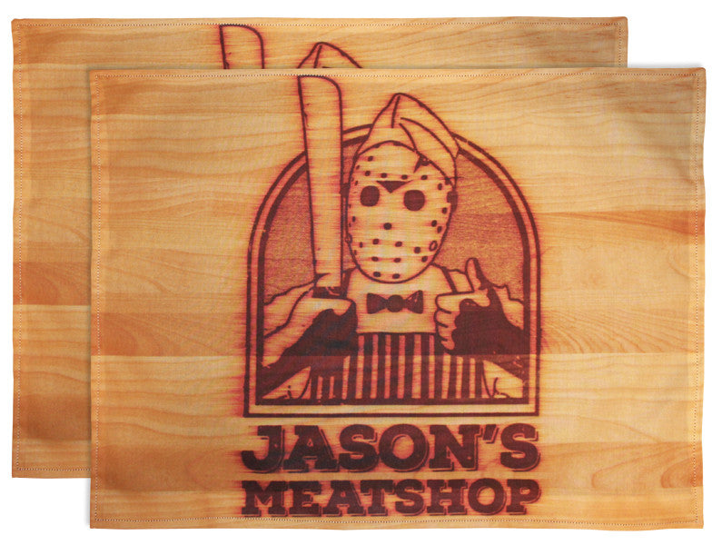 Jason's Meatshop Placemats (Set Of 2)